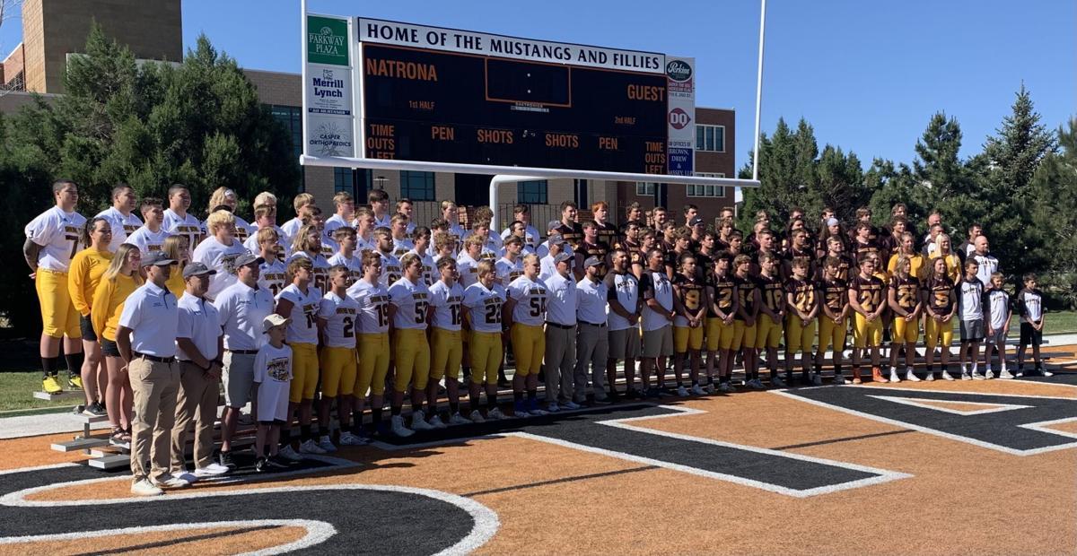 Shrine Bowl team photo