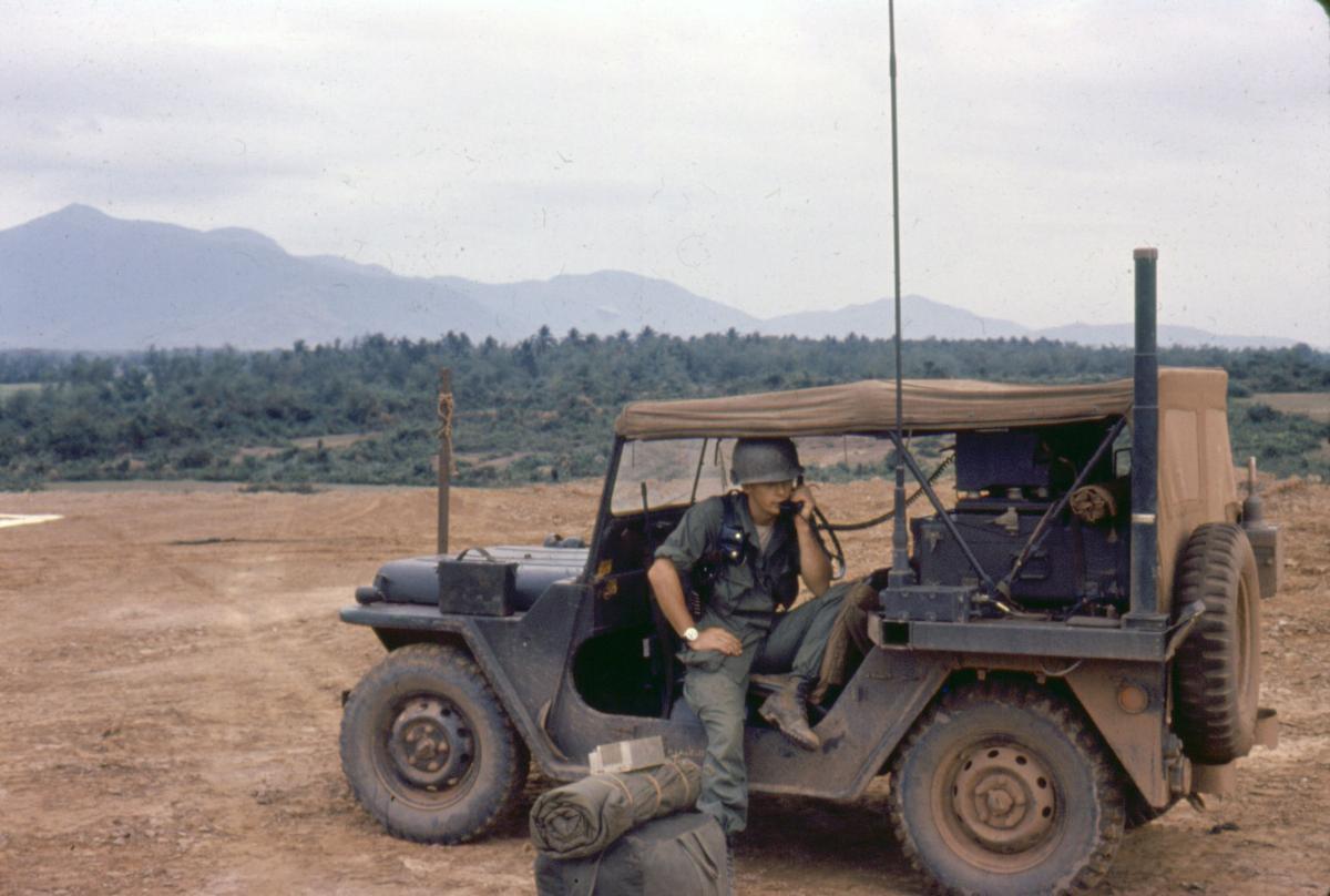 Nick Kricken jeep