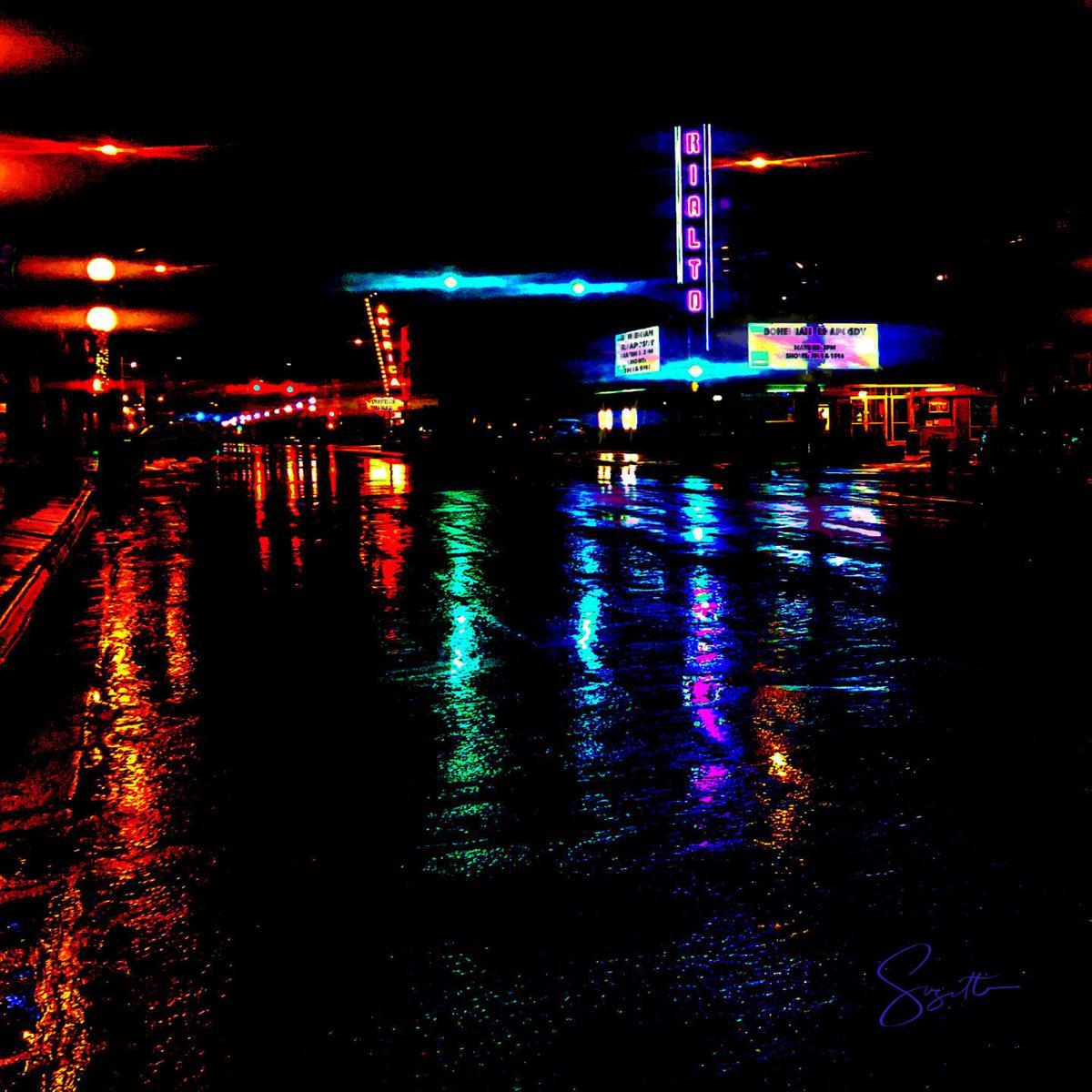 Center Street in the Rain
