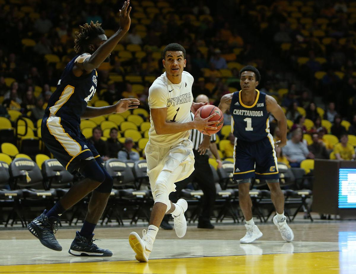 Wyoming vs Chattanooga Basketball