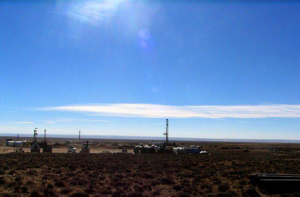 Red Desert drilling station