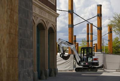 Plaza Construction