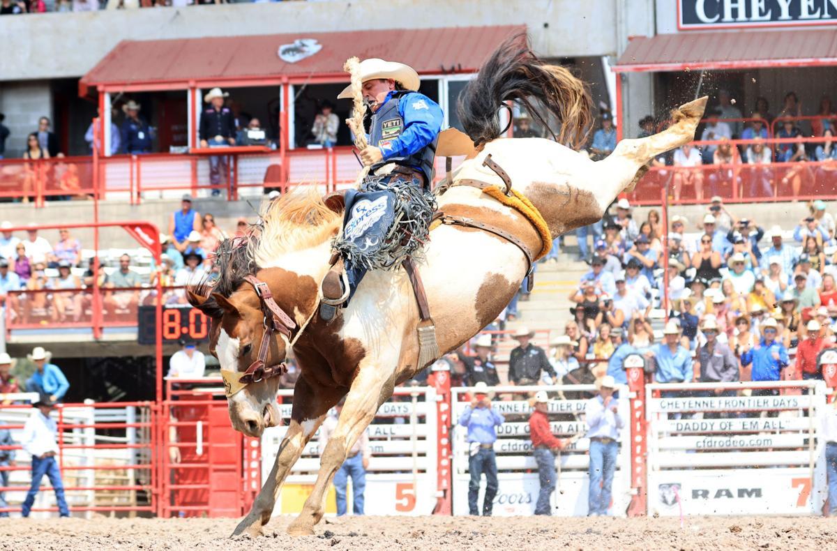 Stetson Wright winning ride at CFD