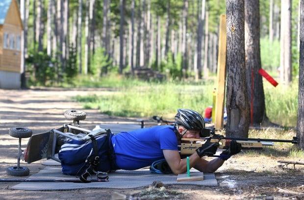 Paralympic Biathletes Train in Casper