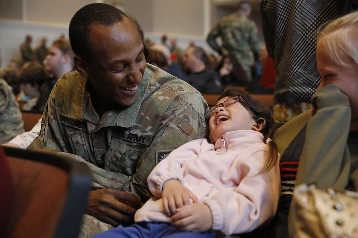 Wyoming families send off 130 troops preparing to deploy to