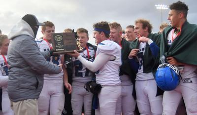 Lyman state football trophy