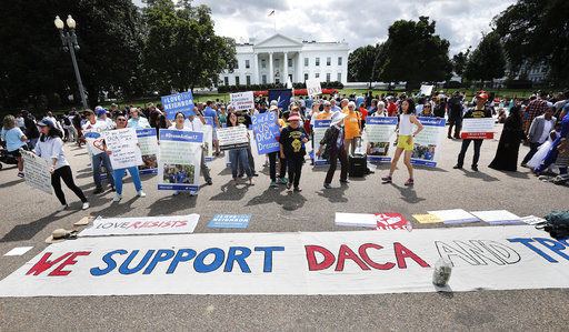 More protests of Trump's plan to end DACA expected