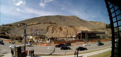 Jackson wyoming landslide pictures