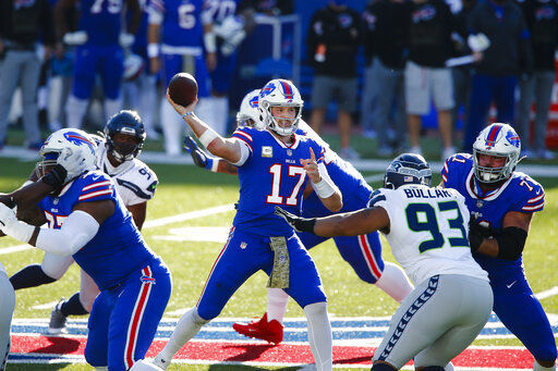 Grieving Allen shines in Bills' 44-34 win over Seahawks