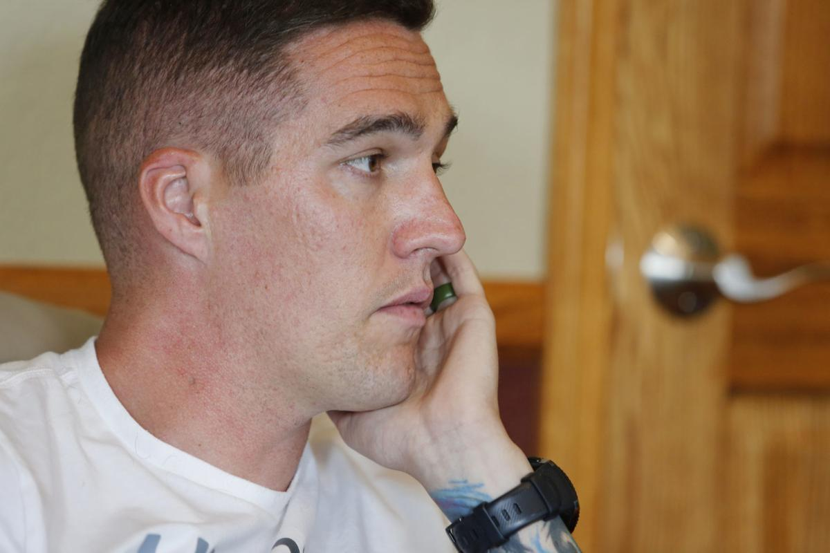 wounded casper officer says chief demanding he return to work