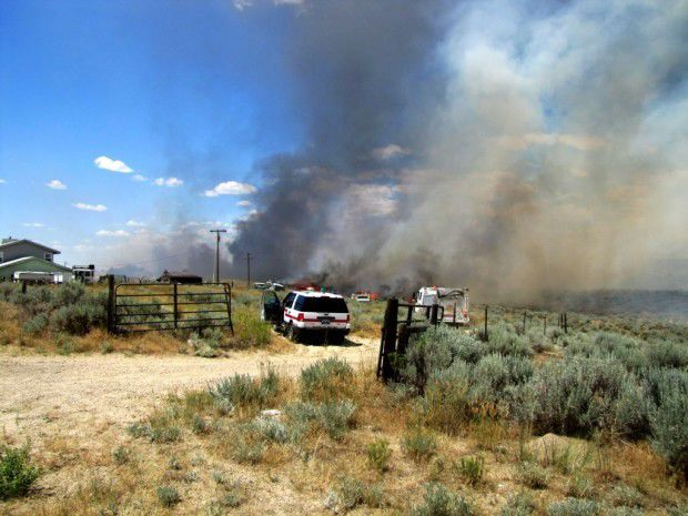 Cole Creek Road fire