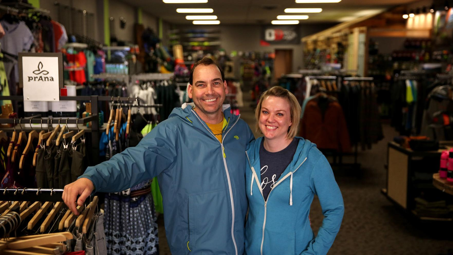 Sports store owners place emphasis on feet