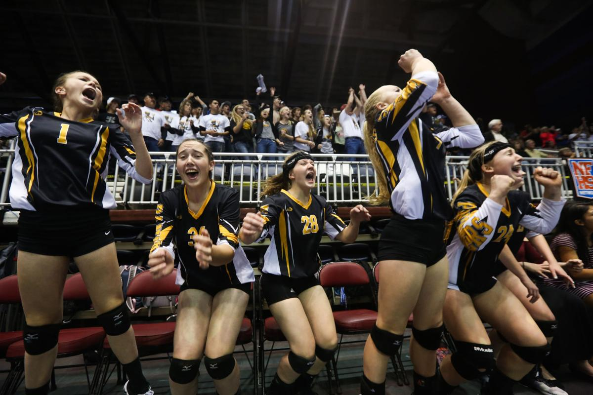 State Volleyball Finals - Wright