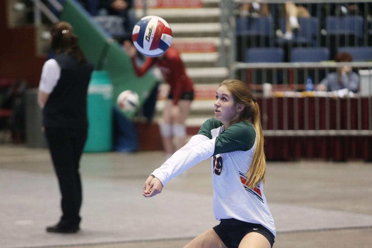 State volleyball Pinedale