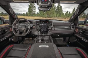 Evaluate the cockpit.