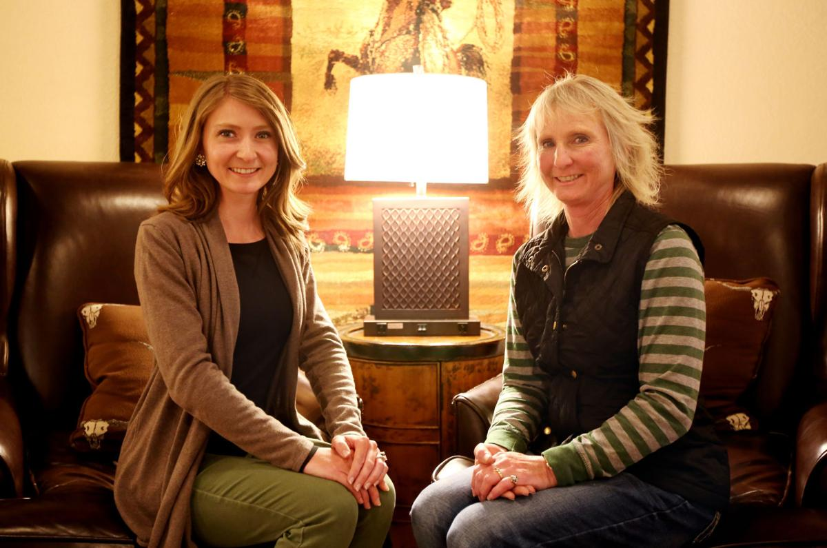 Shelly Trumbull and Kristen Moldaschel