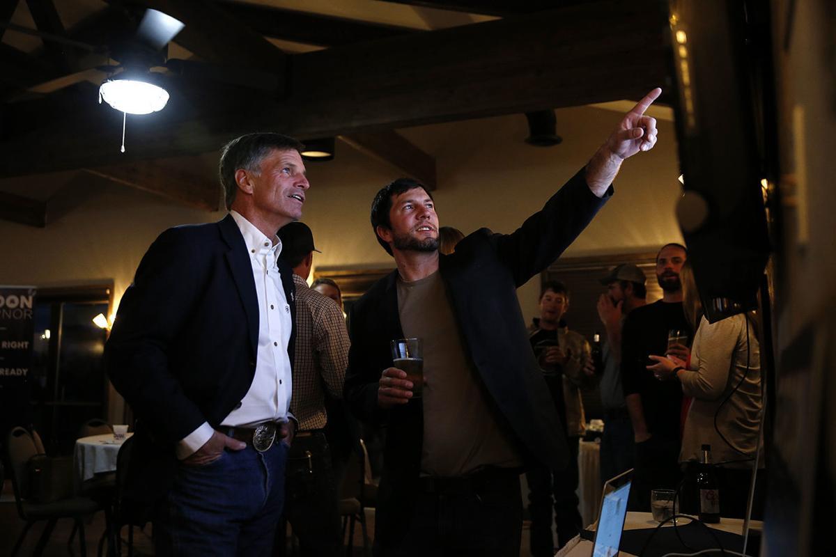 Mark Gordon Election Night