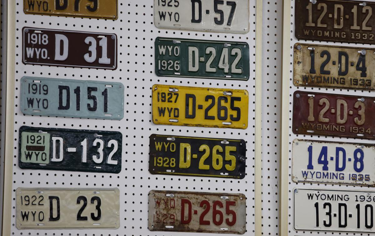 Casper man\'s license plate collection a unique look at Wyoming ...