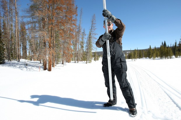 Snow Pack Study by Wyoming State Engineer's Office