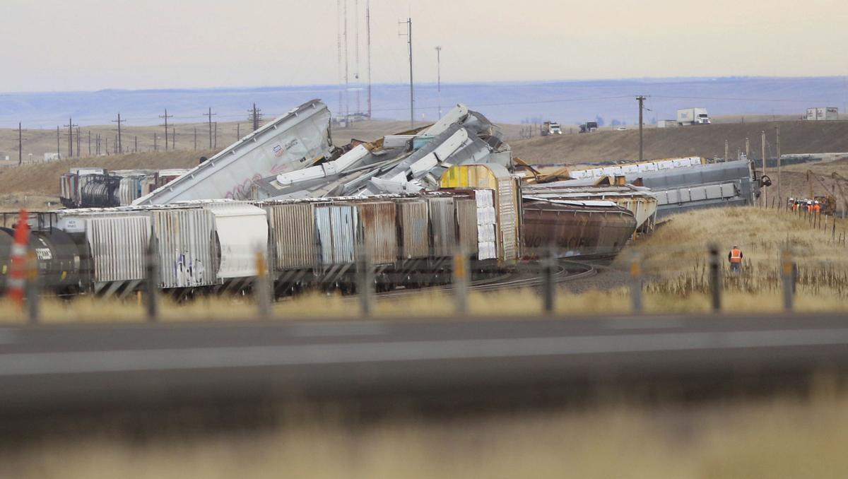 Train Crash-Wyoming