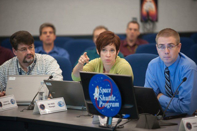 Ryan Landon Prouty at ISS shuttle mission