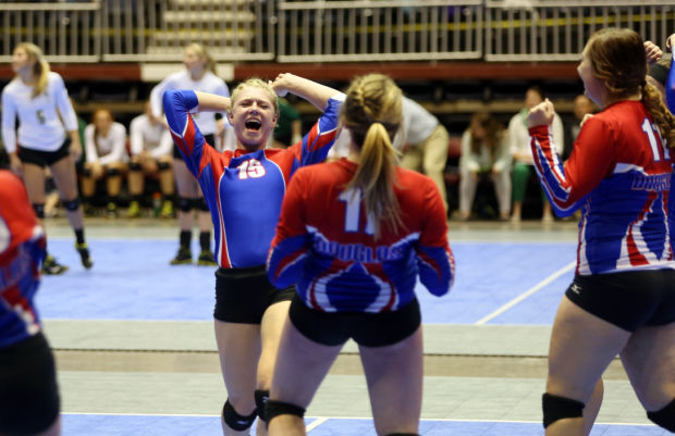 State Volleyball - Friday - Hoopman