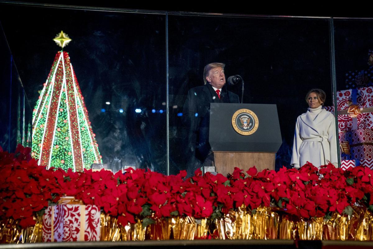 Trump Christmas Tree