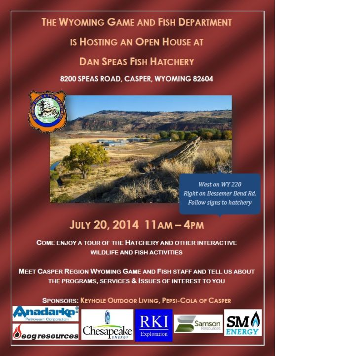 Event Game And Fish Open House At Speas Hatchery
