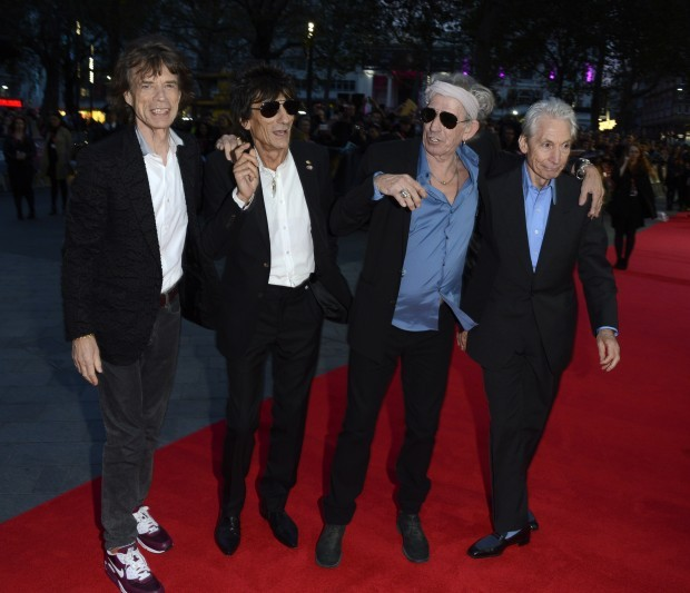 Mick Jagger, Ronnie Wood, Keith Richards, Charlie Watts - Rolling Stones