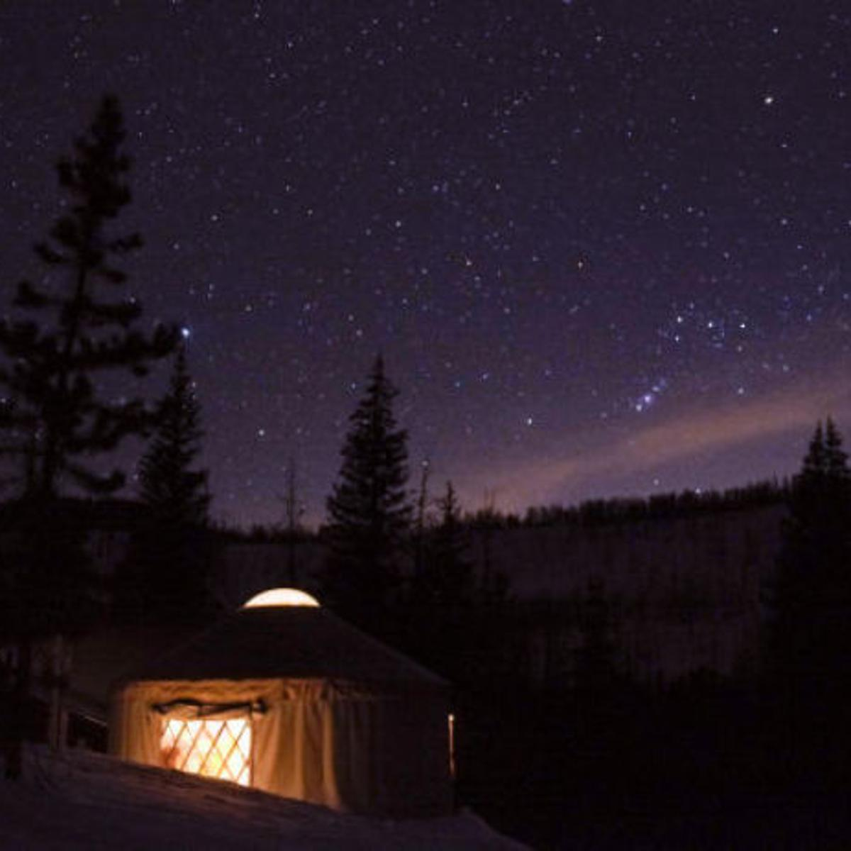 The Best Cure For Winter Fatigue Ski To A Yurt In Evanston Home And Garden Trib Com