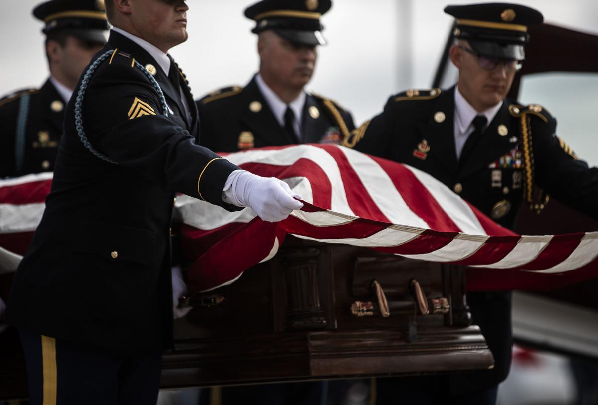 Korea War Funeral