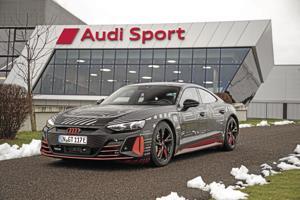 Audi's e-tron GT prototype.