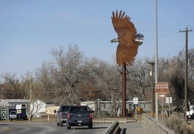 Mills Eagle Statue
