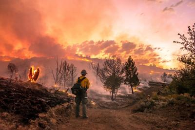 Pedro Mountain Fire
