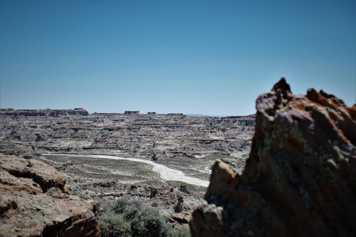 New Map Aims To Demystify Remote Red Desert Wyoming News Trib Com