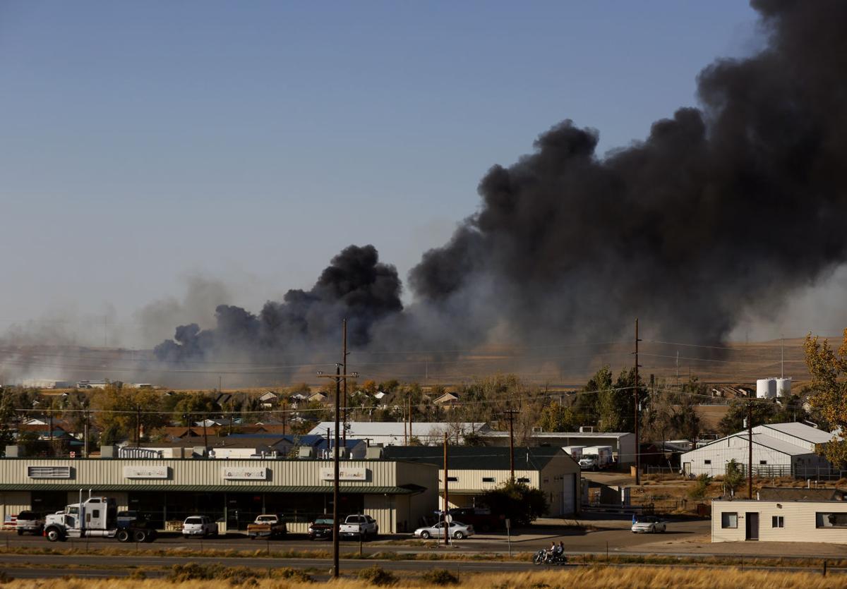 Cole Creek Fire report
