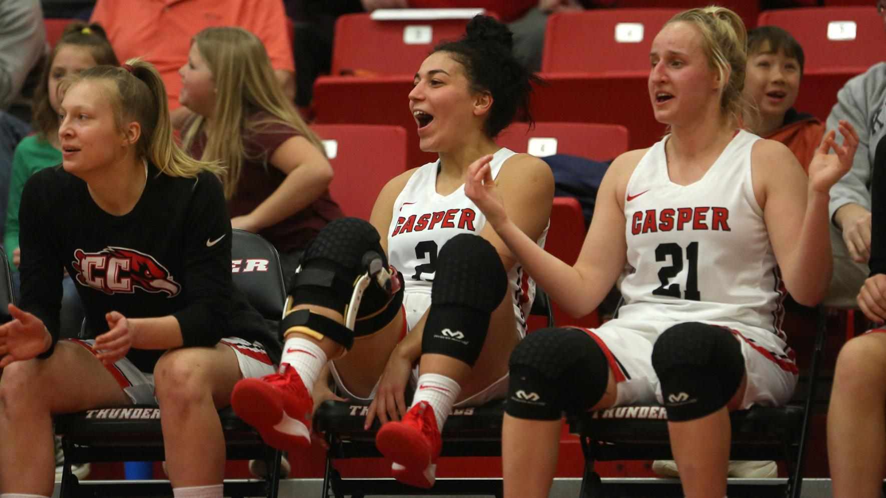 Casper College women's basketball remains perfect in sub-region play