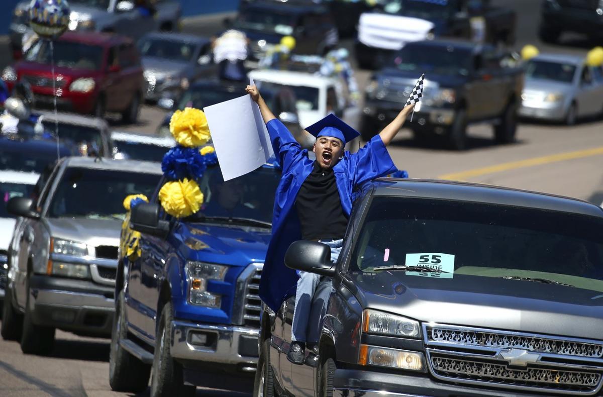 APTOPIX Virus Outbreak Arizona Graduation