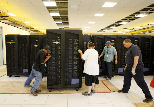Supercomputer Moves In