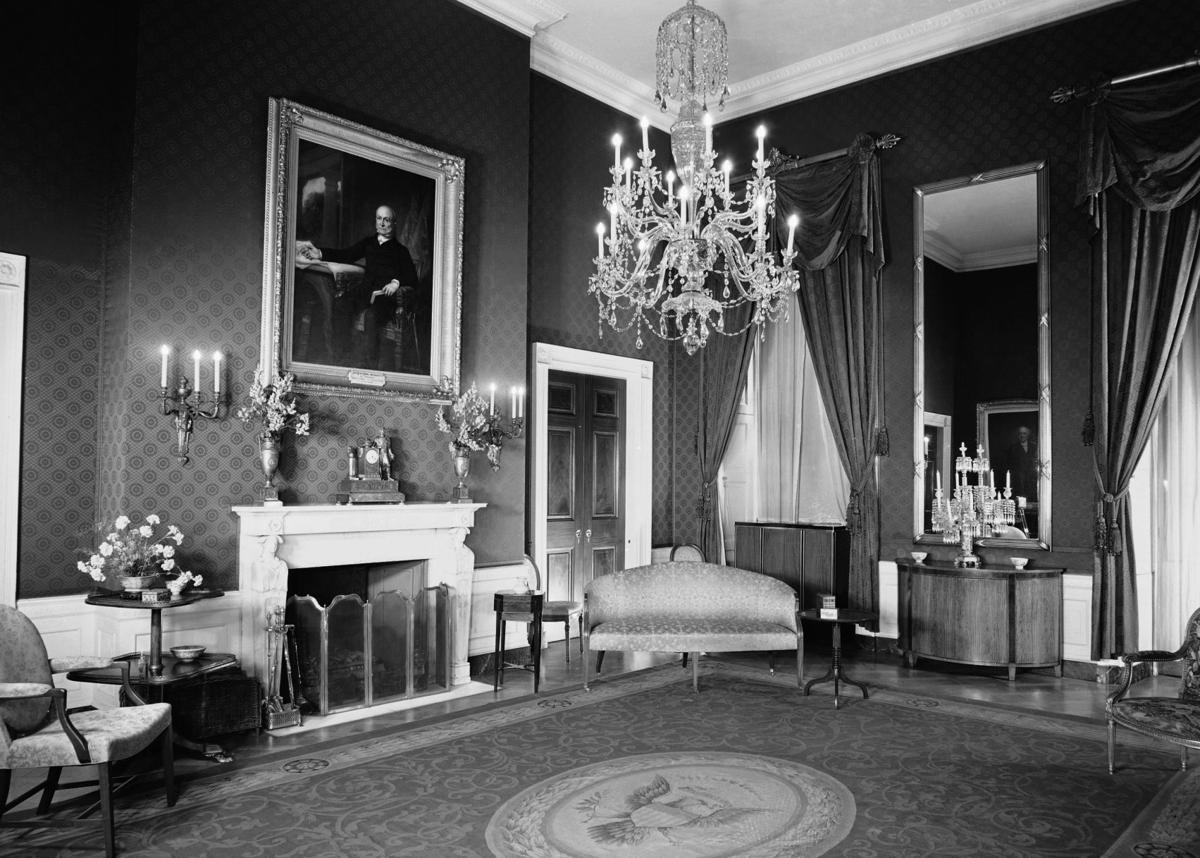 Photos: Inside the White House's color-coded rooms ... 1940s White House Scottie