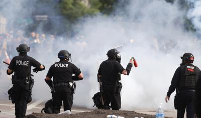Minneapolis Police Death Protest Denver