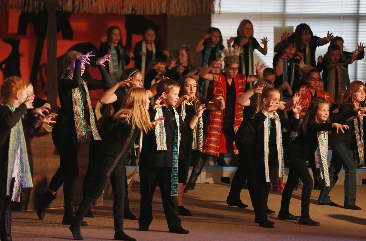 Lion King production brings together elementary and high schoolers