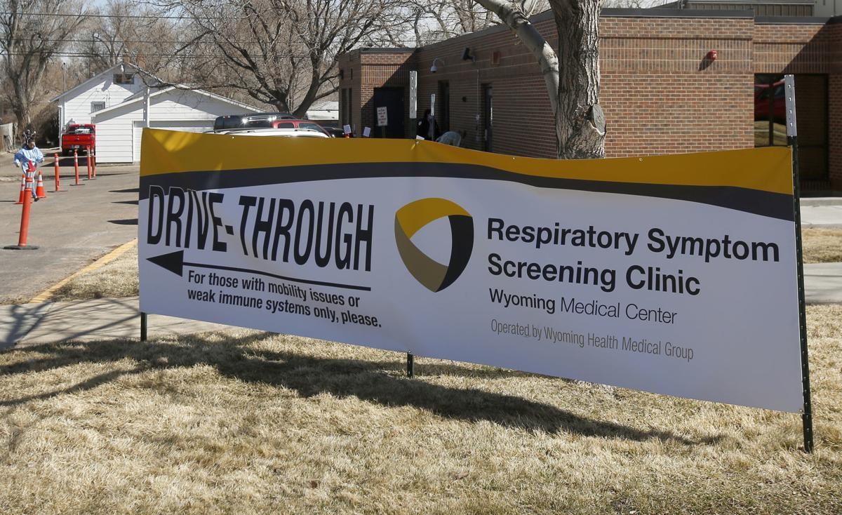 Wyoming Medical Center's respiratory clinic drive-through