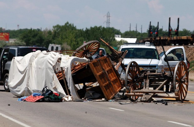 Wyoming Car Crash I