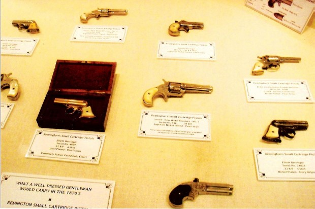 Riverton gun collector sees pioneers and gamblers in the weapons he