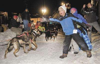 Stage Stop Sled Dog Race