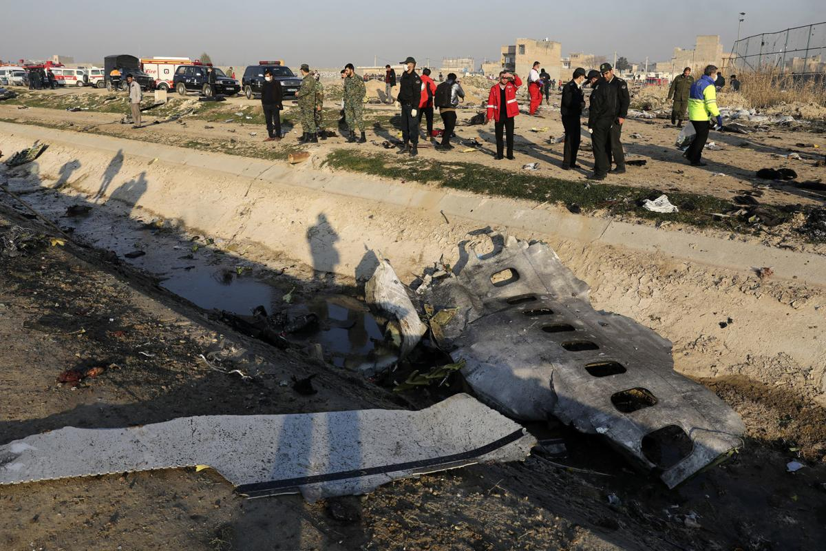 Iran Plane Crash