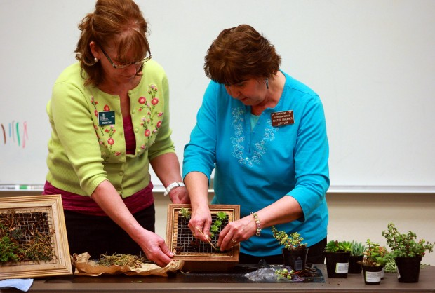 Vertical Gardening with Wendi Stull and Judy Linn