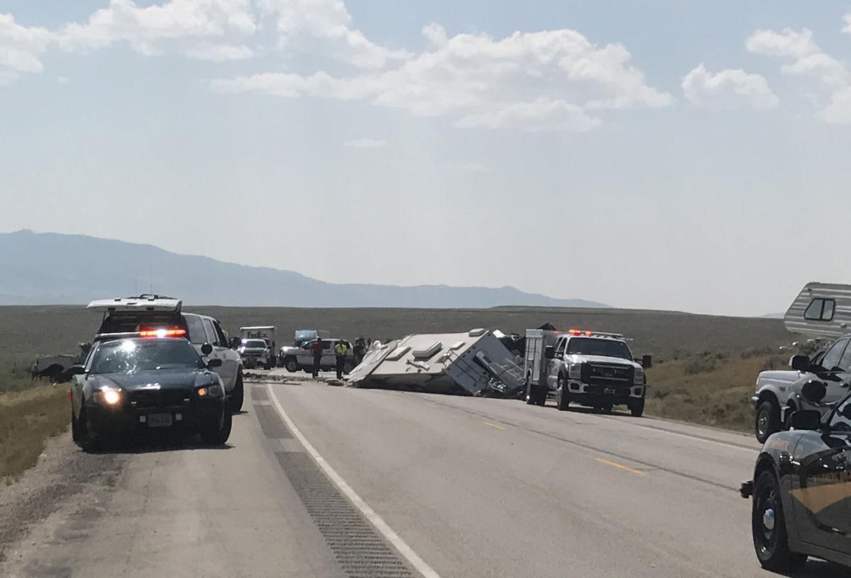 Head-on crash near Independence Rock leaves one dead | Casper | trib.com