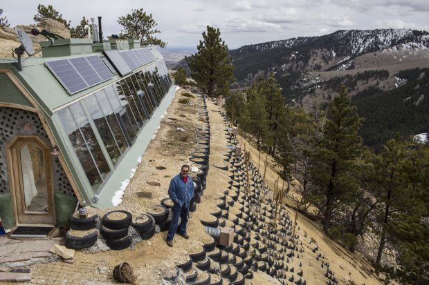 Earthship To Buffalo Couple Carves Space Into
